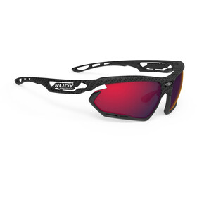Rudy Project Fotonyk Brille carbonium/black/multilaser red